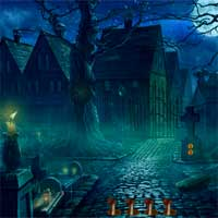 8BGames Halloween Witch Escape