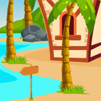 Free online flash games - Escape Royal Beach House