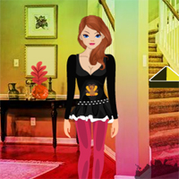 Free online flash games - Girl to Thanksgiving Backyard Party
