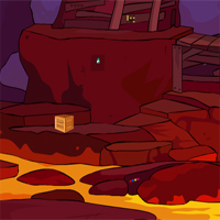 Free online flash games - Foxy Lava Cave Escape