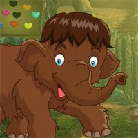 Free online flash games - G4k Brown Elephant Rescue
