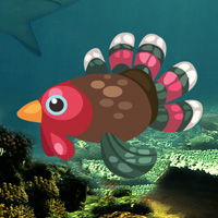 Free online flash games - Turkey Fish Escape