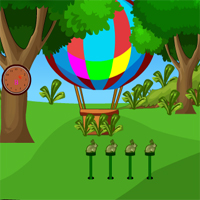 Free online flash games - AVMGames Escape Greeny Forest