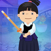 Free online flash games - G4K Chinese Sword Fight Girl Escape