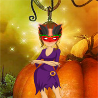 Free online flash games - Games2rule Halloween Party Mask Escape