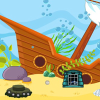 Free online flash games - G4E Deep Sea Escape 5