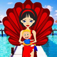 Free online html5 escape games - Paradise Island Kiddo Escape HTML5
