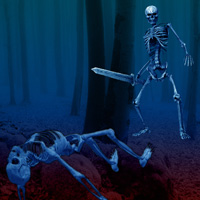 Wowescape Escape Game Skeleton Forest