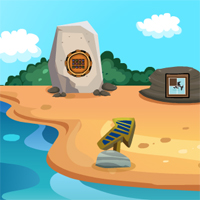 Free online flash games - GenieFunGames Billy Beach House Escape