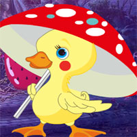 Free online flash games - G4K Mushroom Duck Escape