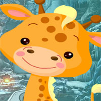 Free online flash games - G4k Petite Giraffe Rescue