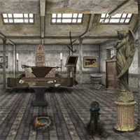 Free online flash games - Abandoned Medieval Palace Escape 2