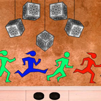 Free online flash games - 8b Athlete Boy Escape game