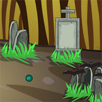 Free online flash games - GFG Scary Graveyard Escape 5