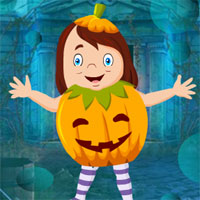Free online flash games - G4K Cute Pumpkin Girl Escape