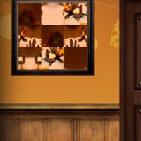 Free online flash games - Amgel Thanksgiving Room Escape 4