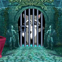Free online flash games - Games4King Racoon Cub Escape