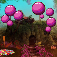 Fantasy Candy Forest Escape