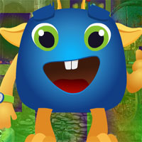 Free online flash games - Games4King Cartoon Creature Escape
