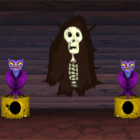 Free online flash games - Games4Escape Halloween Party House Escape 13