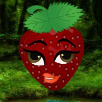 Free online html5 escape games - Mystery Strawberry Forest Escape HTML5