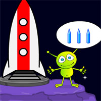 Free online flash games -  SD Escape The Moon