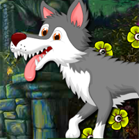 Free online flash games - Amiable Forest Wolf Escape