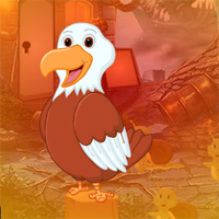 Free online flash games - G4K Delighted Aguila Linda Escape